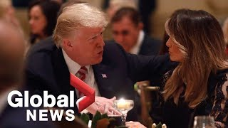 Download Donald Trump celebrates Thanksgiving at Mar-a-Lago with family Video