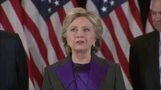 Download Clinton: 'Sorry We Did Not Win This Election' Video