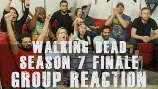 Download The Walking Dead - 7x16 The First Day of the Rest of your Life - Group Reaction Video