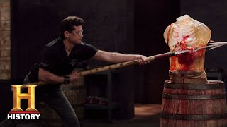 Download Forged in Fire: The Zande Spears Tested (Season 5, Episode 8) | History Video