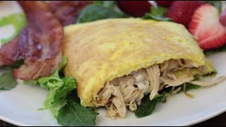 Download Thanksgiving Leftover Recipes - How to Make a Turkey-Filled Omelette Video