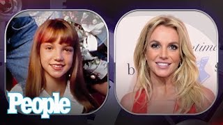 Download Britney Spears's Evolution of Looks   People Video
