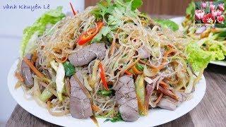 Download MIẾN XÀO - Bí quyết xào MIẾN DONG không dính chùm - MIẾN XÀO CẬT HEO và RAU CỦ by Vanh Khuyen Video
