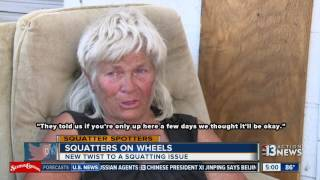 Download Neighbors call city of Las Vegas regarding couple stranded with truck Video