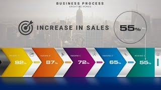 Download How To Create Business Process Sales Infographic Slide in Microsoft Office PowerPoint PPT Video