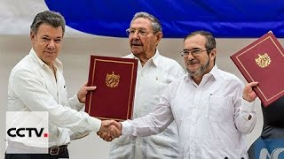 Download Congress ratifiess peace accord with FARC rebels Video