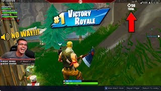 Download The day we broke the World Record of 56 Kills in 1 match! (Fortnite) Video