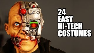 Download 24 EASY Hi-Tech Halloween Costumes I invented Video
