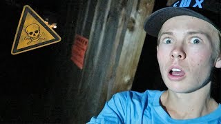 Download CHASED OUT OF ABANDONED HOUSE! *terrifying* Video