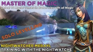 Download Nightwatcher Merayl - Master of Magic (Solo Levelling Team) Video