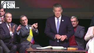 Download Gobierno y las FARC firman el nuevo acuerdo de paz de Colombia Video