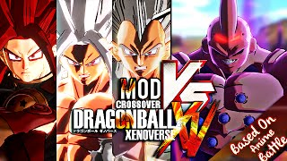 Download Dragon Ball Xenoverse Crossover [PC-Mod] - SSJ5 ( My CAC, Goku, Vegeta & Gogeta ) Vs. Omega Buu Video
