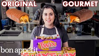 Download Pastry Chef Attempts to Make Gourmet Twix | Gourmet Makes | Bon Appétit Video