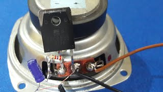 Download Simple Audio Amplifier (using single transistor) Video