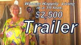 Download Kathy Living in a $2500 Used Trailer. Video