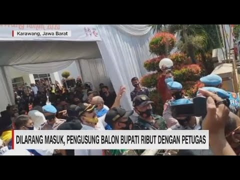Cekcok Warnai Pendaftaran Pilkada Hari Pertama