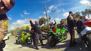 Download Bikers try to get away from cops...Then this happens | Bikers vs Cops Video