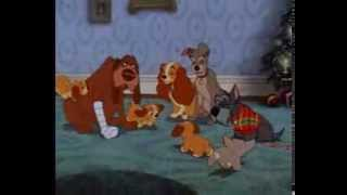 Download Lady And The Tramp - Last Scene - Christmas Family Together Video