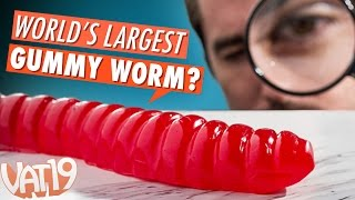 Download Burning Questions: World's Largest Gummy Worm Video