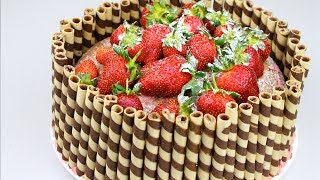 Download STRAWBERRY CAKE - Todd's Kitchen Video