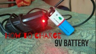 Download {Hindi}| How to charge a 9v battery|Easy Tips| Video