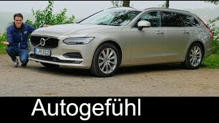 Download Volvo V90 FULL REVIEW D3 Momentum FWD MHD test 2017/2018 - Autogefühl Video