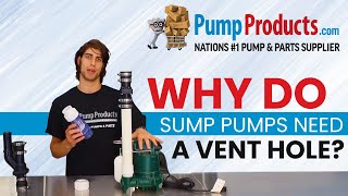 Download Why Your Sump Pump Needs a Vent Hole Video