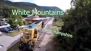Download White Mountains Aerial Tour - New Hampshire Video