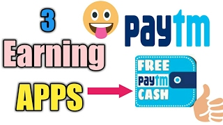 Download Top 3 Earning apps for android 2017 (May) -with paytm cash Video