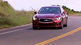 Download On the road: Infiniti Q50S Hybrid Video