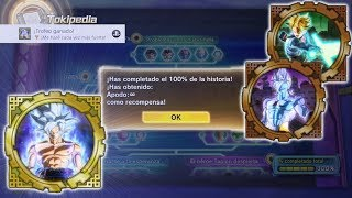 Download ∞ TODO DESBLOQUEADO! CONSIGUIENDO APODO INFINITO ∞   Dragon Ball Xenoverse 2 Video
