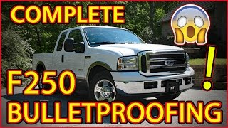 Download COMPLETELY ″BULLETPROOFING″ OUR FORD SUPER DUTY F250 POWERSTROKE 6.0L Video