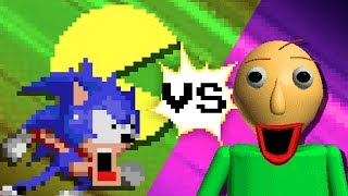 Download SONIC vs BALDI vs PACMAN Video