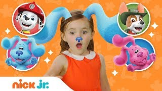 Download Play Junior Dress Up w/ Blue's Clues & You + PAW Patrol! 🐶 Ep. 8   Nick Jr. Video