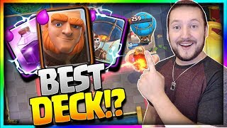 Download INSANE GIANT BALLOON DECK!! Top 200 Undefeated Trophy Push - Clash Royale Video