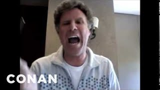 Download Will Ferrell Wants To See Conan ″Smooth″ 04/21/11 Video