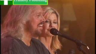 Download How Do You Mend A Broken Heart-Barry Gibb And Olivia Newton-John-Sound Releif Video