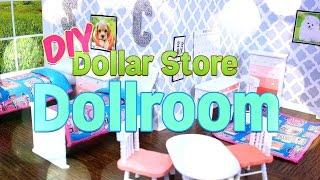 Download DIY - How to Make - Dollar Store Dollroom - Handmade - Doll - Craft - 4K Video