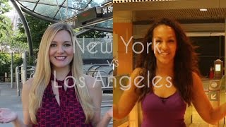 Download New York vs Los Angeles: The Metro Video