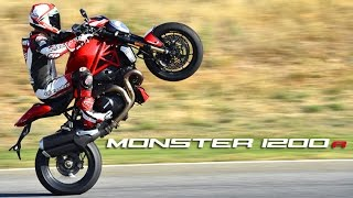 Download Ducati Monster 1200R 1st Ride - MotoGeo Review Video