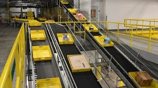 Download Cyber Monday at Amazon's 1 million square-foot fulfillment center in DuPont, Wash. Video
