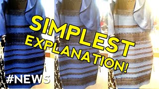 Download The Dress Mystery Color Explained - SIMPLEST EXPLANATION Video