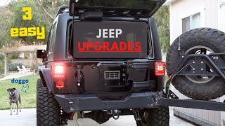 Download 3 Easy Upgrades for the Jeep Wrangler Anyone Can Do! Video