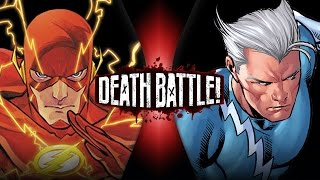 Download Flash VS Quicksilver (Marvel VS DC) | DEATH BATTLE! Video