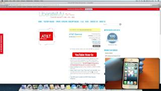 Download Unlock AT&T iPhone for T-Mobile & any other Carrier - LiberateMyi Video