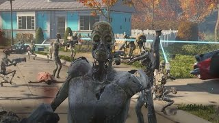 Download Accidentally Unleashing 50 Synths In Fallout 4's Opening Scene - IGN Plays Live Video