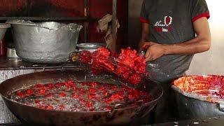 Download Chicken Lollipop Prepared for 100 People - Indian Street Food Video