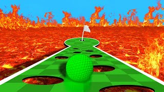 Download DODGE THE DEADLY LAVA HOLES! (Golf It) Video