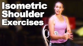 Download Shoulder Isometric Exercises - Ask Doctor Jo Video