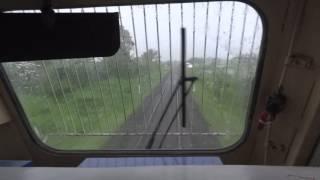 Download [IRFCA] Dual Cab EMD Locomotive cab Ride on a rainy evening!!! Video